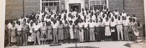Florida Black Principals Meeting, Bethune Cookman College, 1956