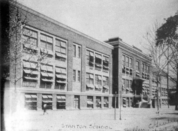 stanton high school 1917