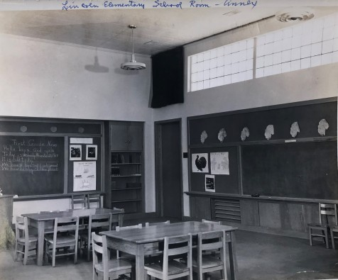 Lincoln High School Elementary Classroom Photo, 1949